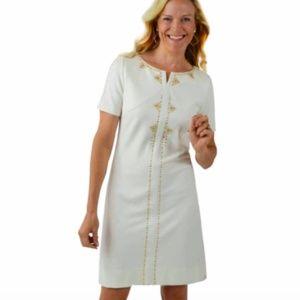 NWT CK Bradley Ponte Shirt Dress S
